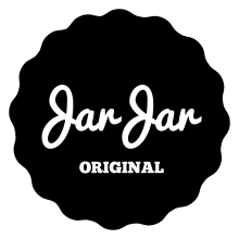 JarJar Original - Mason Jars - Das Original mit Logo