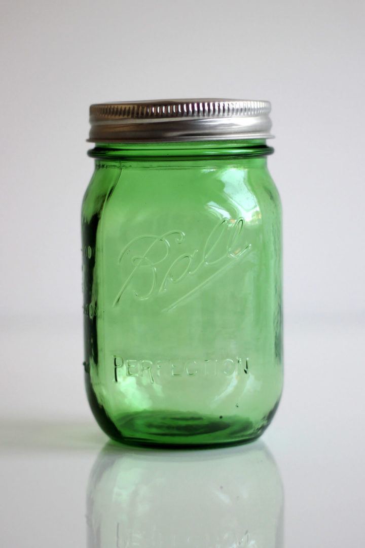 Ball Mason Jar Grün Green 16oz Pint