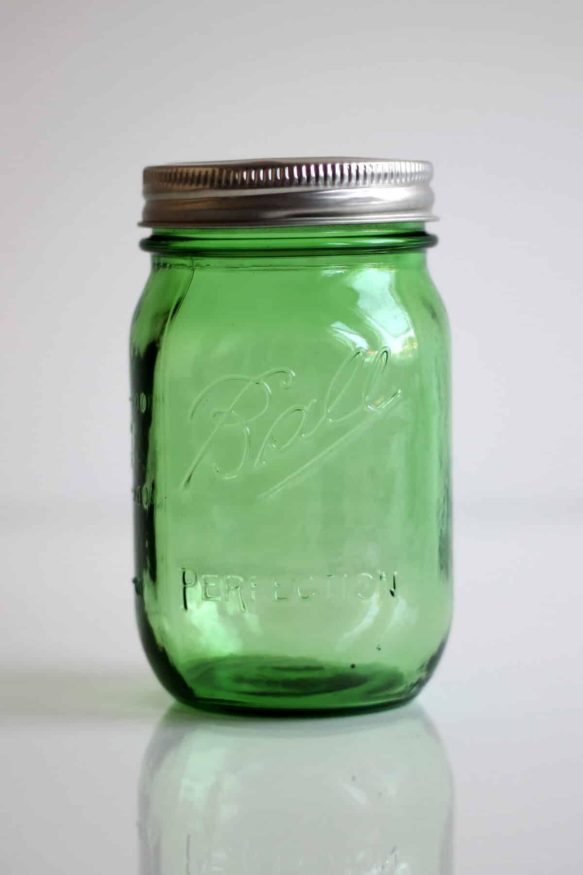 Ball Mason Jar Grün Green 16oz Pint