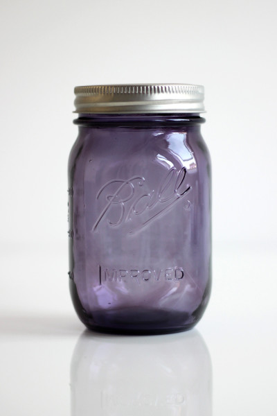 Ball Mason Jar Purple Lila 16oz Pint