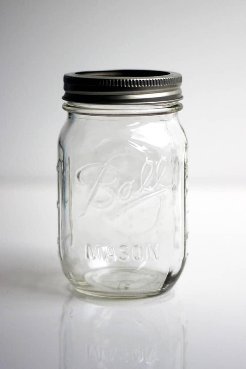 Ball Mason Jar 16oz Regular Mouth Clear