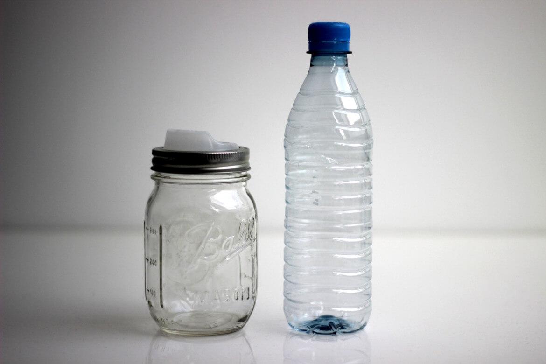 Glas oder Plastik