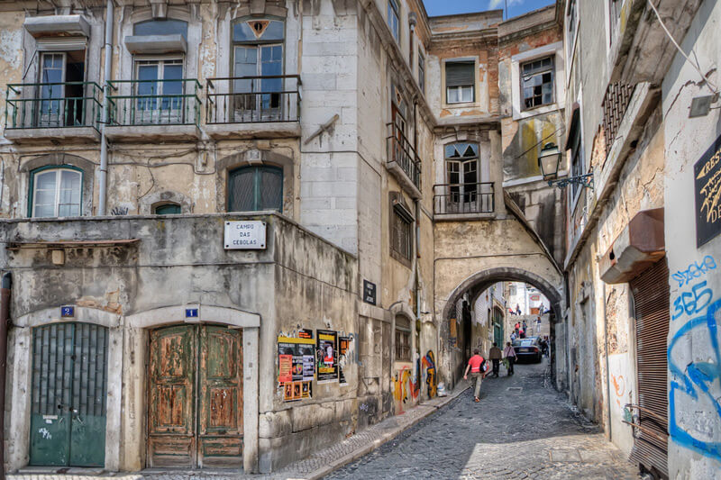 Lissabon Streets Urban