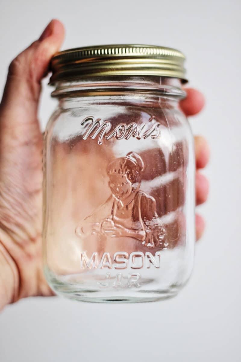 Moms Mason Jar clear 16oz