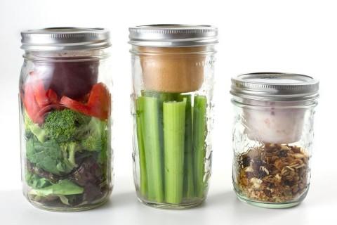 Salat To Go Becher verschiedene Groessen