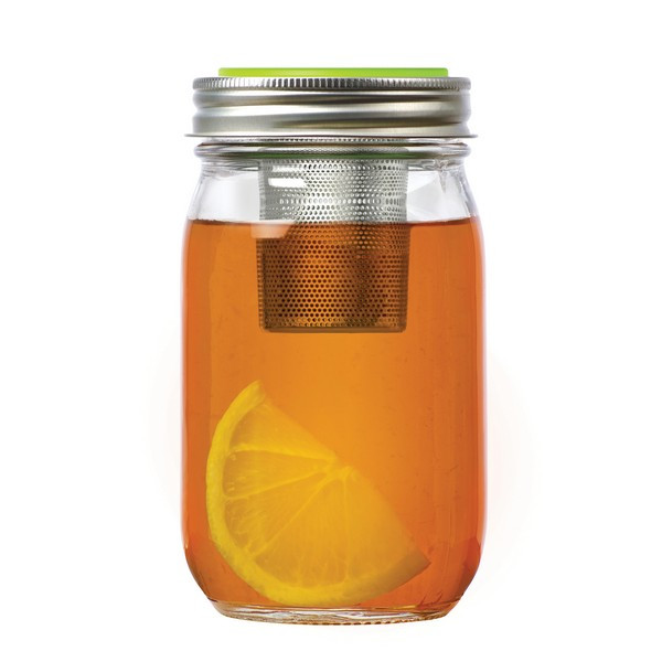 Tee To Go Infuser im Mason Jar