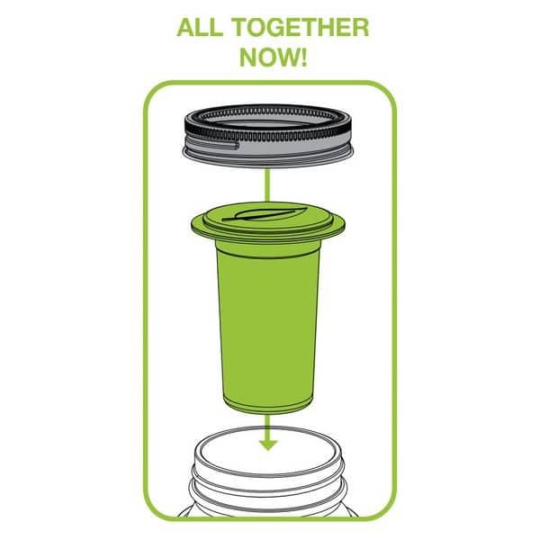 Mason Jar Accessoir: Tea Infuser