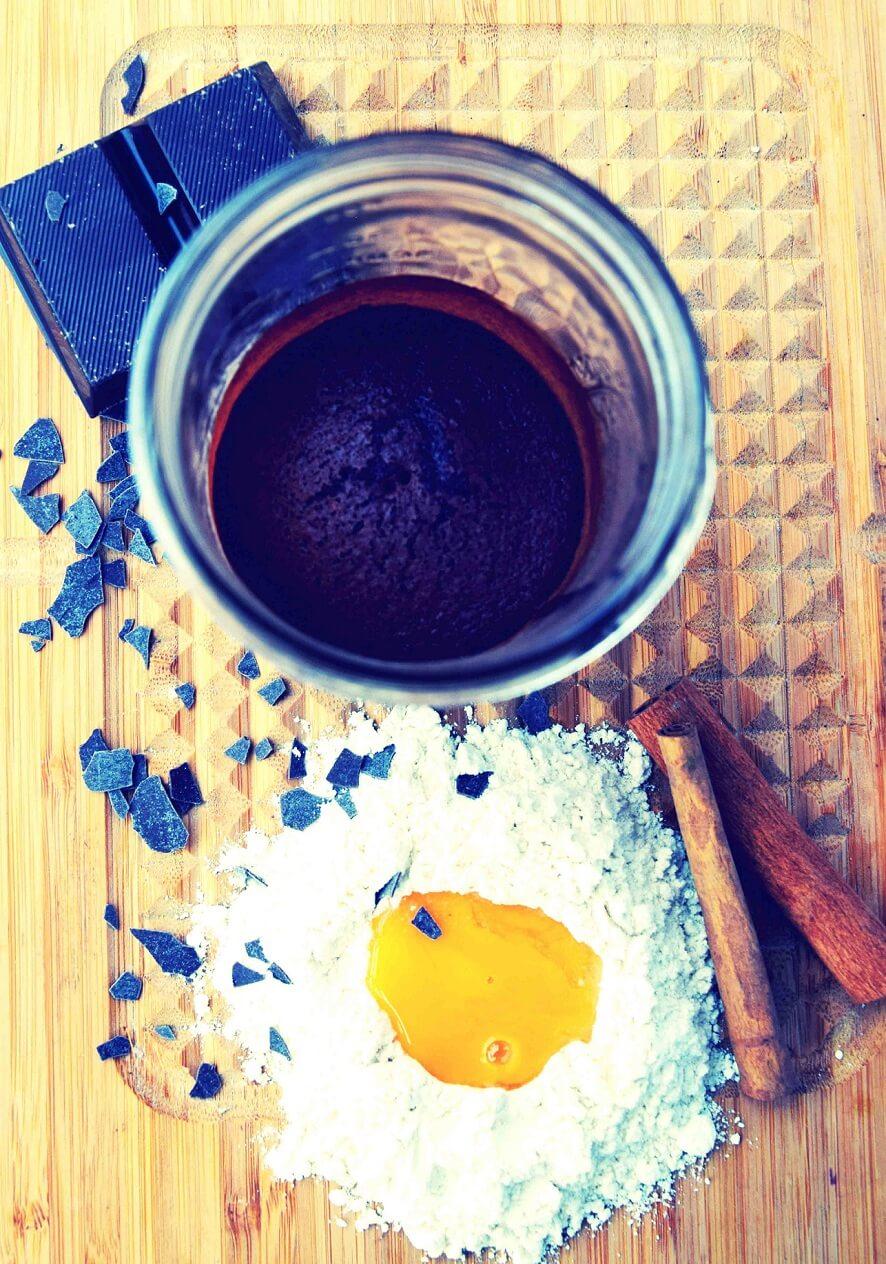 Kuchen im Mason Jar