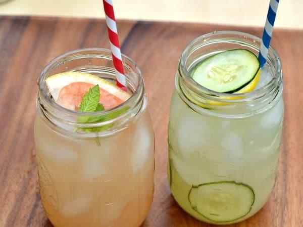 Mason Jar Gin Cocktail