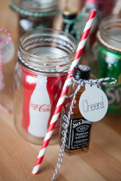 DIY Mason Jar Jacky Cola