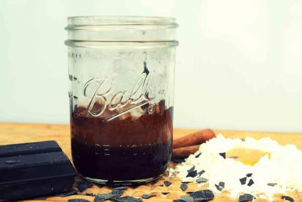 Schokokuchen im Mason Jar