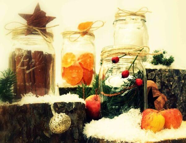 Weihnachtsglas