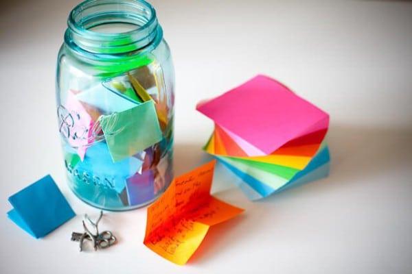 Resolution Jar Vorsätze im Glas