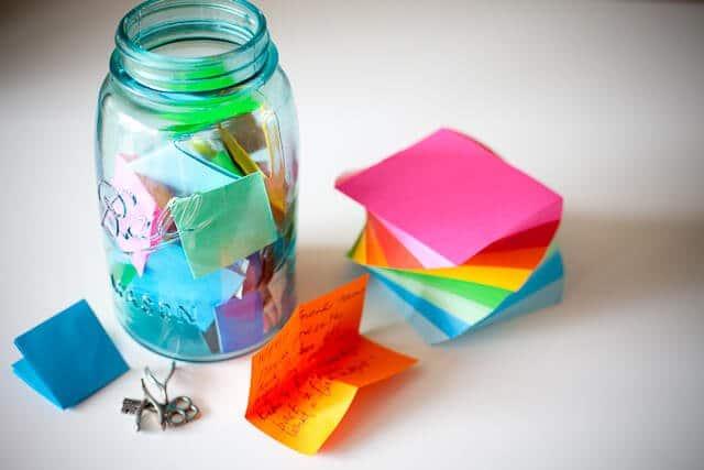 """""""Resolution Jar"""" für New Years Eve – Meine Vorsätze im Glas"""