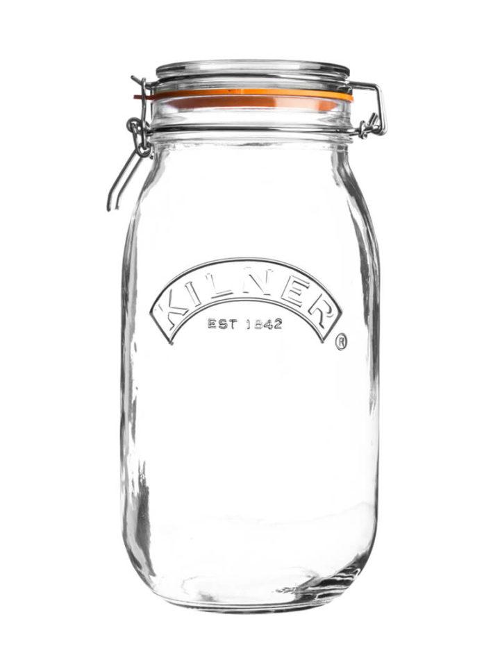 Glas mit Bügelverschluss Aufbewahrungsglas 1500ml Kilner Einmachglas Bügel