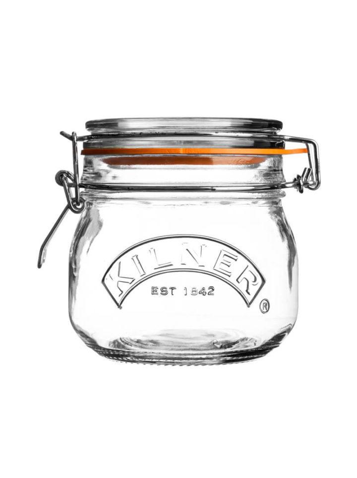 Kilner Clip Top Jar Einmachglas rund mit Bügelverschluss 500ml