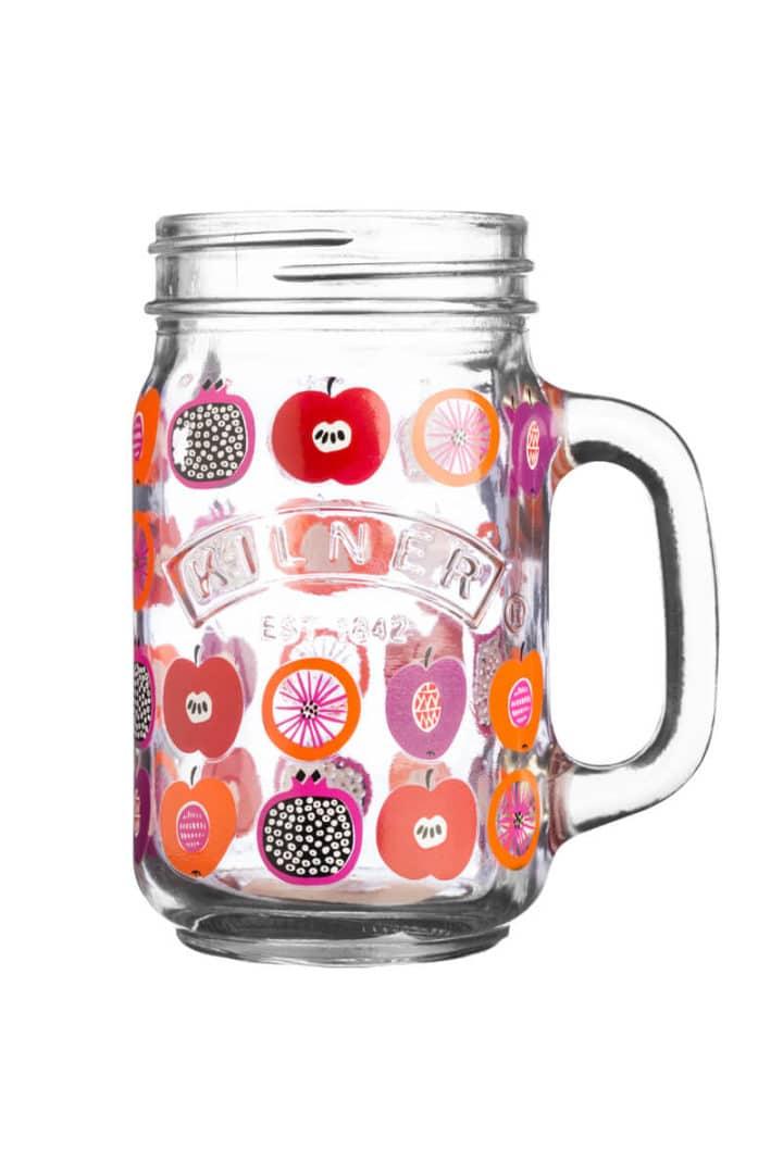 Mason Frucht Punch Glas Mason Jar mit Henkel