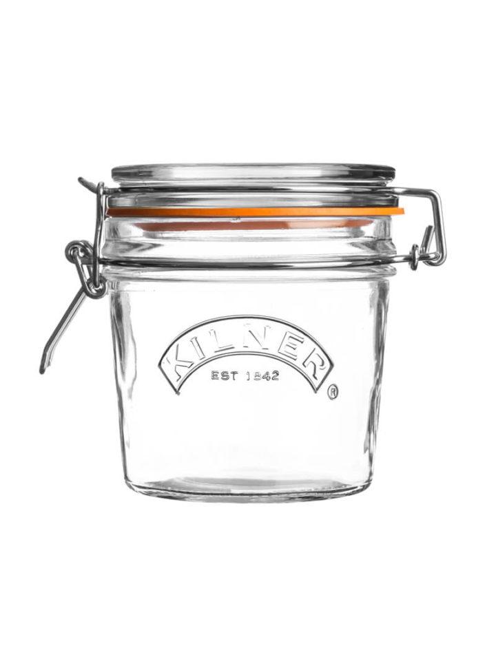 kleines Kilner Clip Top Jar mit 350ml Marmeladenglas mit Buegelverschluss von Kilner