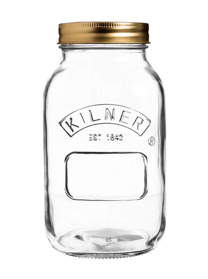 Einmachglas Aufbewahrungsglas Kilner Mason 1 Liter