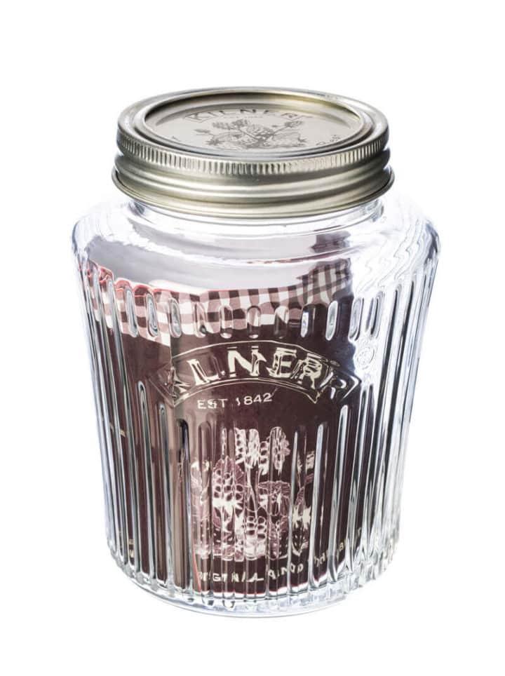 Jar Aufbewahrung Cookie Glas Einweckglas 0,5 Liter mit Deckel