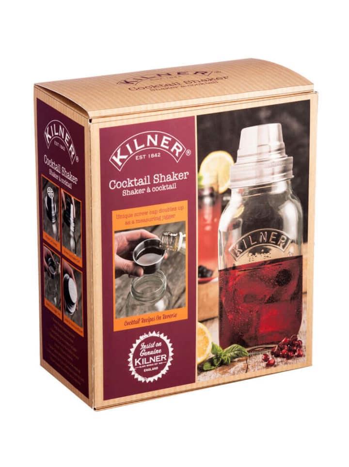 Cocktail Shaker Mason Jar Kilner