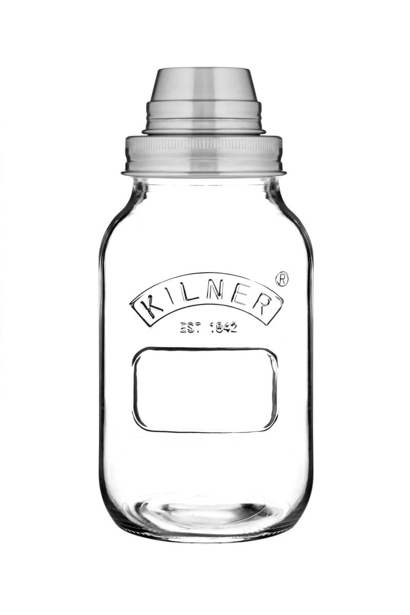 kilner cocktail shaker set 1 liter edestahl und glas kaufen. Black Bedroom Furniture Sets. Home Design Ideas
