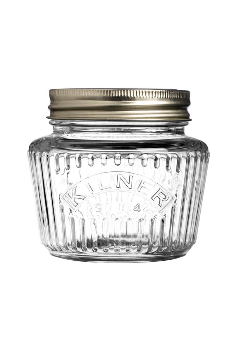 Schönes Einweckglas kaufen mit prägung Drehverschluss 250ml