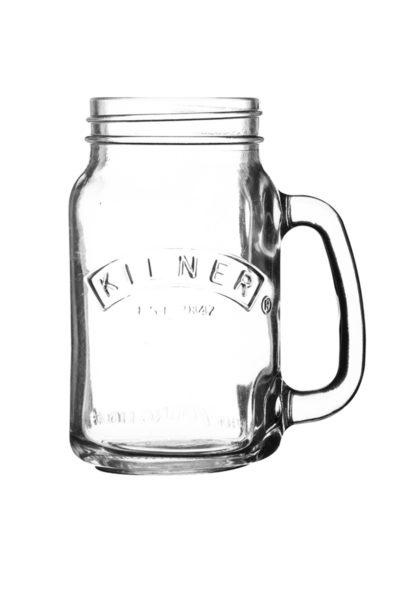 Mason Jar EInmachglas mit Henkel von Kilner 400ml
