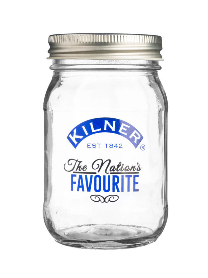 Kilner Jar Nations Favourite Blue 400ml