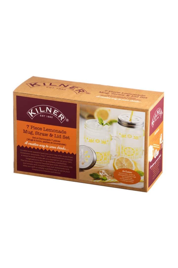 Kilner Limonaden Geschenkset in Verpackung