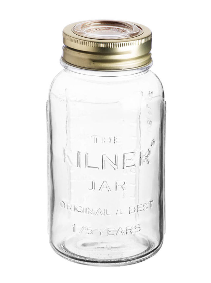 Kilner Einweckgläser und Mason Jars oder Gläser Anniversary Jar 1500ml