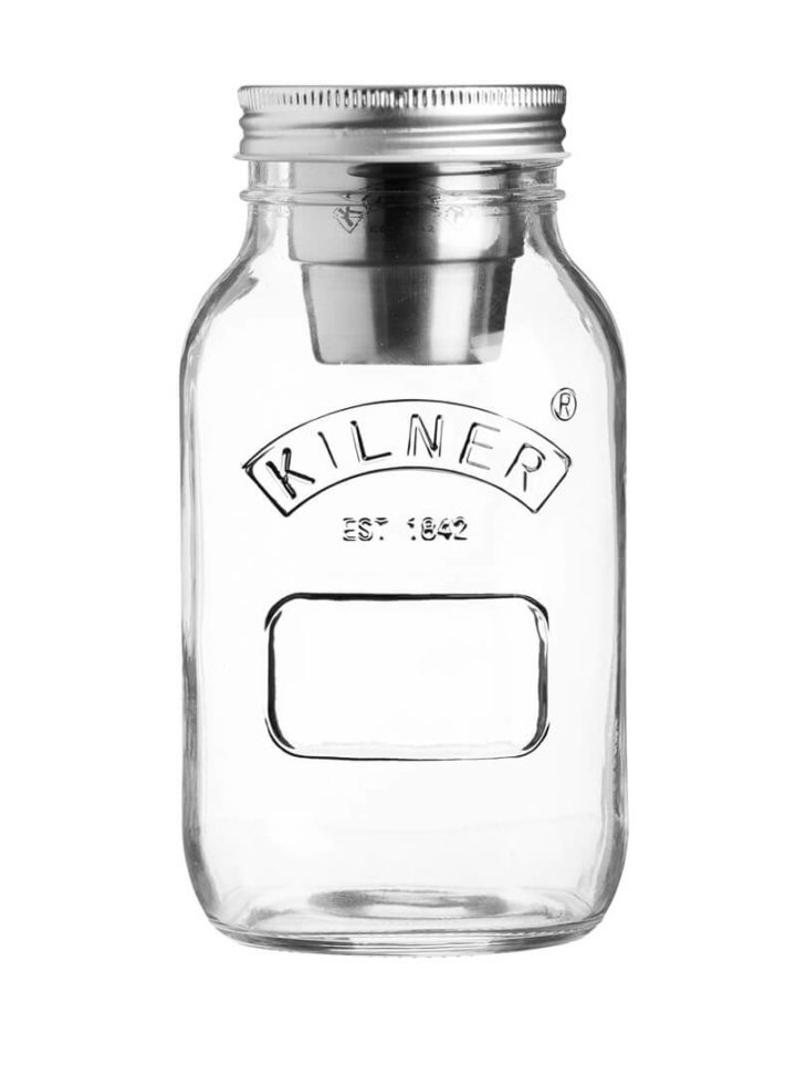Müslibecher To Go oder Food On the go Glas Kilner Jar 1000ml