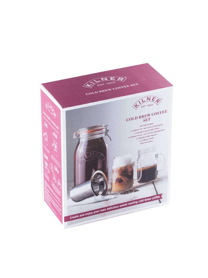 Cold Brew Coffee Set von Kilner in der Box
