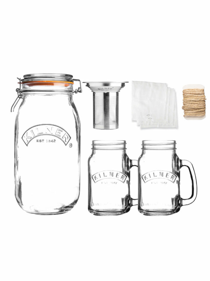 Cold Brew Coffee Set ovn Kilner
