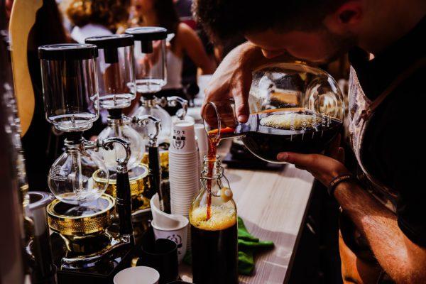 Cold Brew Coffee in der Bar