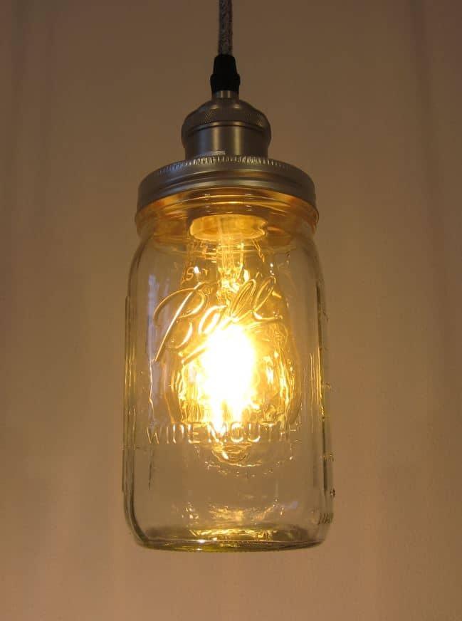 Ball Mason Vintage Lampe einfach Schlummerbeleuchtung