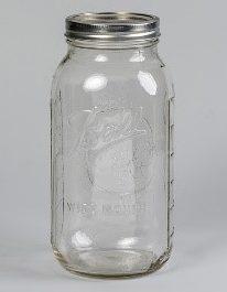 Ball Mason 64oz ein riesiges Glas