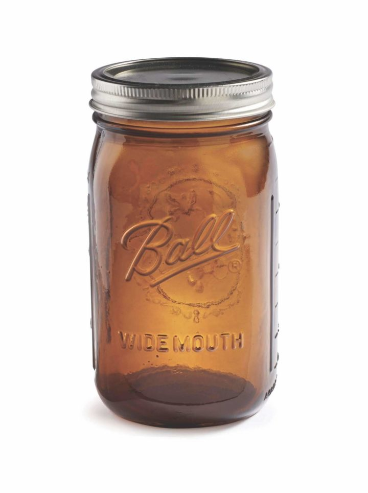 Ball Mason Glas Amber Farben Jar 950ml Füllvermögen