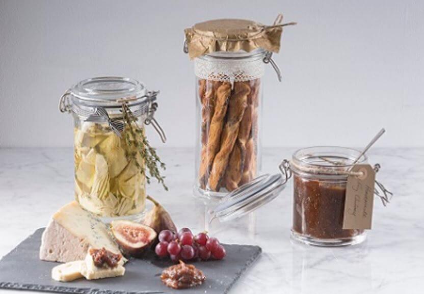 Einmachgläser Einweckgläser oder Weckgläser kaufen in verschiedenen Variatiionen