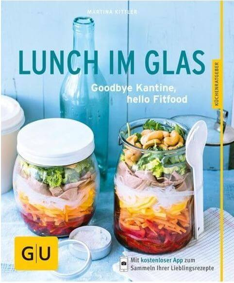 Lunch im Glas to go Buch Illustration