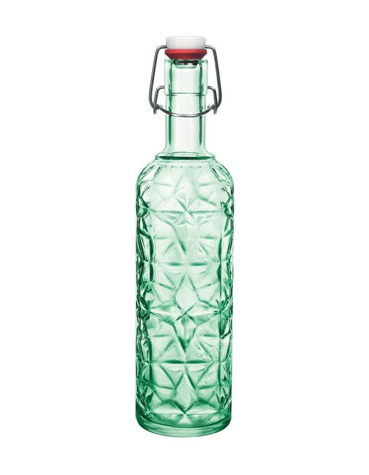 Flasche Kristall Grün