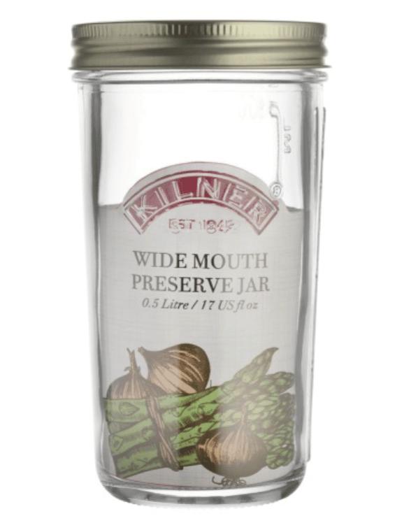 Einweckglas 500 ml mit Deckel